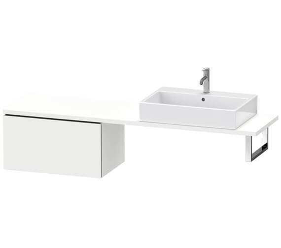 Duravit L-Cube 1 Drawer Compact Low Cabinet For Console