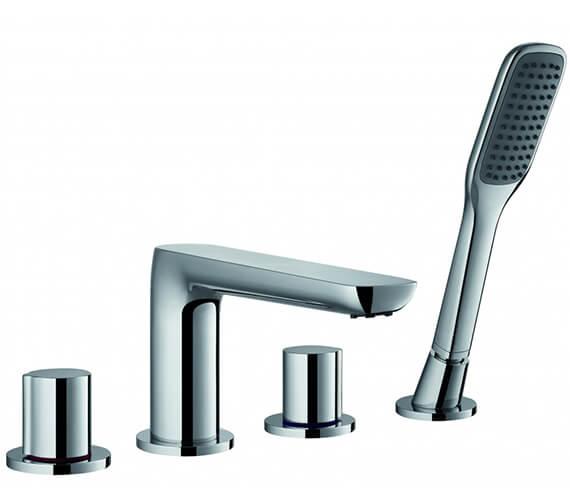 Flova Allore Bath Shower Mixer Tap With Shower Set
