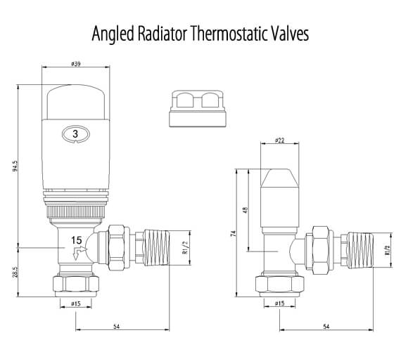 Technical drawing QS-V98531 / LMRADAN