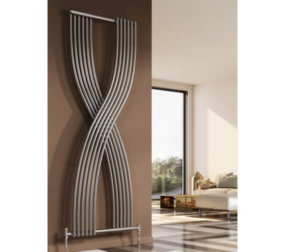 Reina Dimaro 620 x 1760mm Steel Designer Vertical Radiator