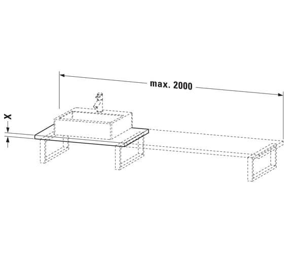 Technical drawing QS-V104329 / LC106C01818