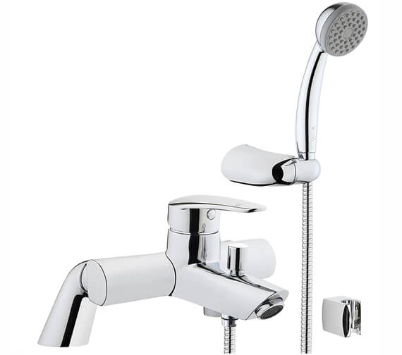 VitrA Dynamic S Bath Shower Mixer Tap With Shower Kit
