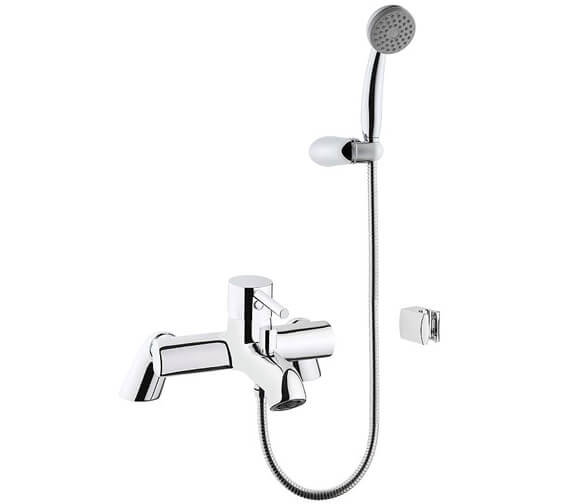 VitrA Minimax S Bath Shower Mixer Tap With Showerhead