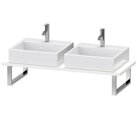 Duravit L-Cube Console With Two Cut-Out