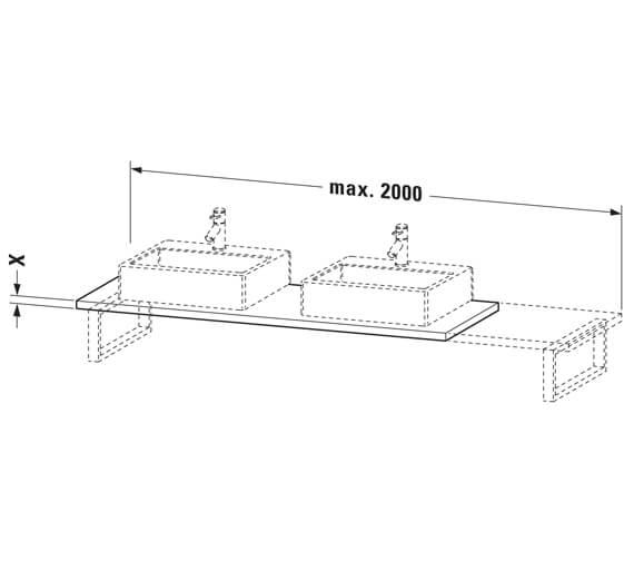 Technical drawing QS-V104330 / LC107C01818
