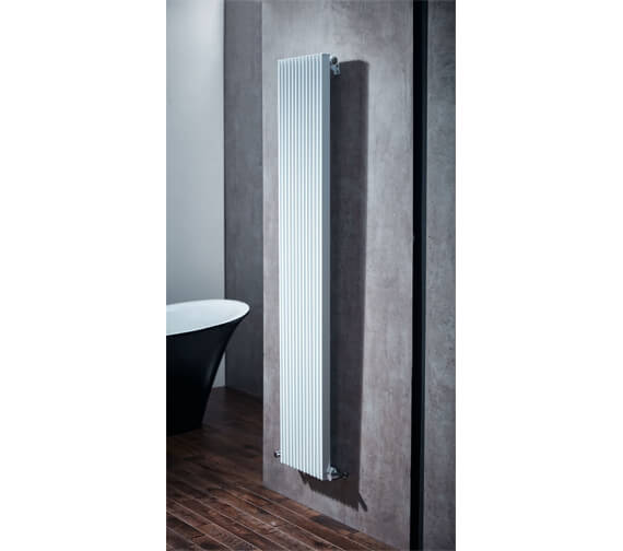 Additional image of Aqua Fusion 1800mm High Mild Steel Designer Radiator