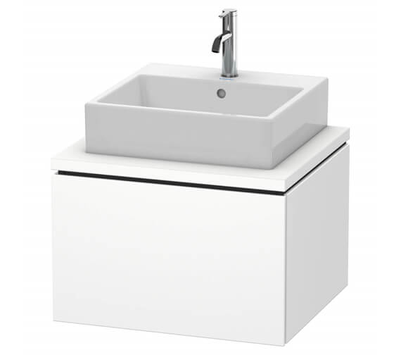 Duravit L-cube 1 Pull-Out Compartment Vanity Unit For Console