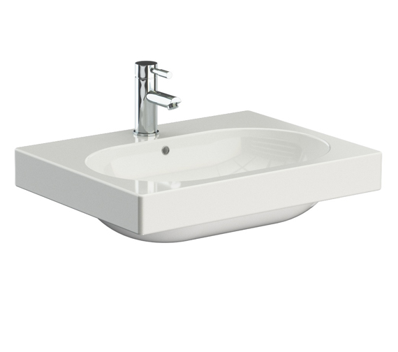 Additional image of Saneux Austen 500mm Wide Washbasin - More Sizes Available