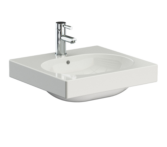 Alternate image of Saneux Austen 500mm Wide Washbasin - More Sizes Available