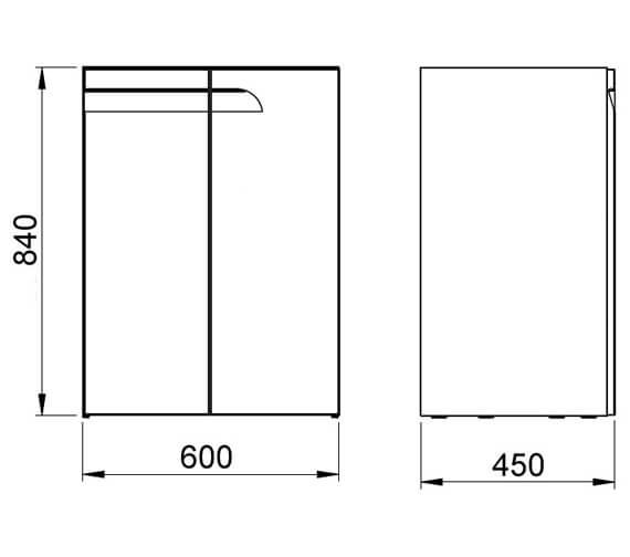 Technical drawing QS-V101412 / RO22537