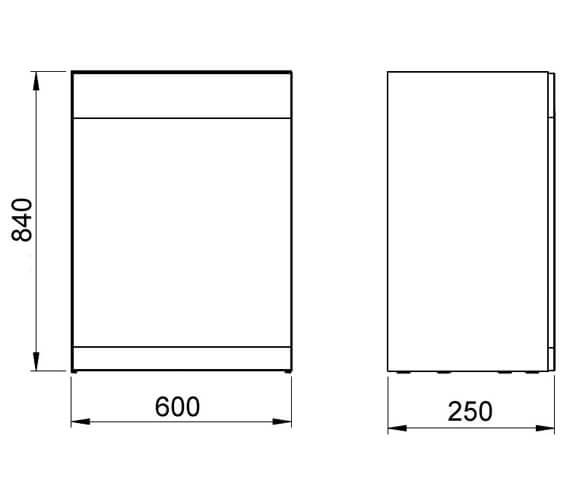 Technical drawing QS-V101411 / RO22540