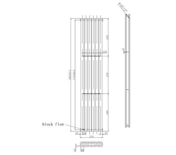 Technical drawing QS-V98546 / LMNRSUNR11W