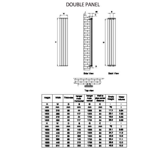 Technical drawing QS-V90616 / RND-FL163W