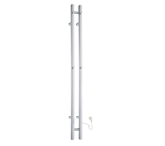 Smedbo Dry 1500mm Height Vertical Towel Warmer