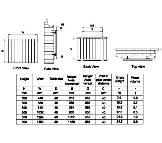 Technical drawing QS-V81046 / RND-FL06W