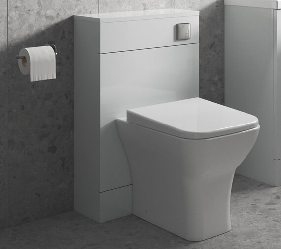Nuie Arno 500 x 200mm Back-To-Wall WC Furniture Unit