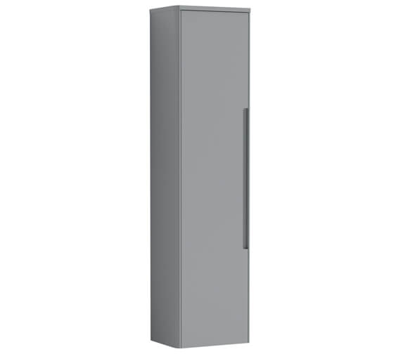Additional image of Nuie Elbe 1400mm High Wall Hung Single Door Tall Boy Unit