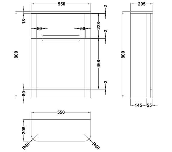 Technical drawing QS-V93975 / PAR141