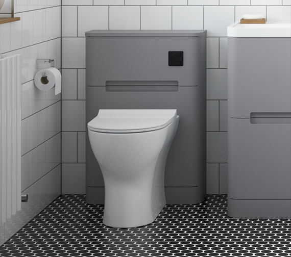 Nuie Elbe 550 x 220mm Back-To-Wall WC Unit