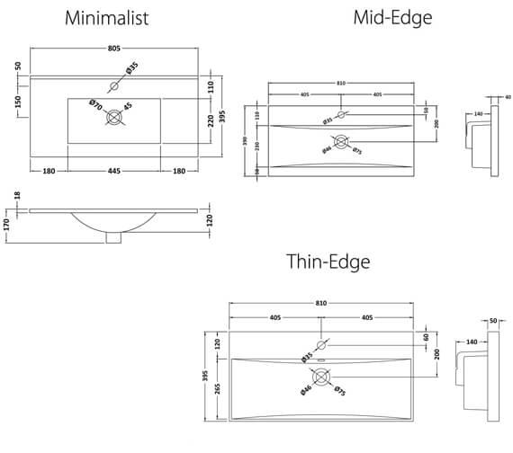 Technical drawing QS-V98180 / URB101B