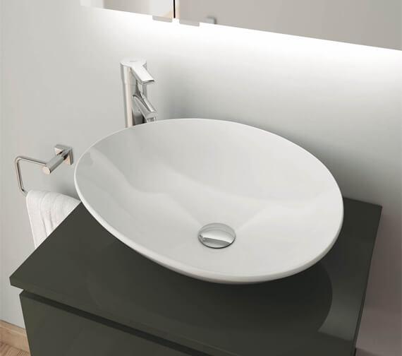 Royo Galaxy 512 x 145mm Countertop Round Wash Bowl