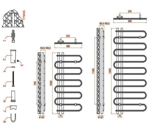 Technical drawing QS-V20720 / RND-JS5100A