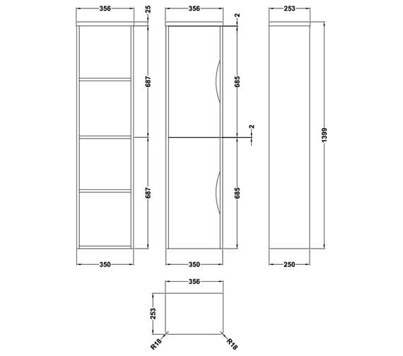 Technical drawing QS-V73274 / PMP163
