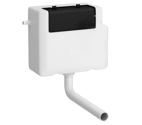 Hudson Reed Universal Access White Dual Flush Concealed Cistern