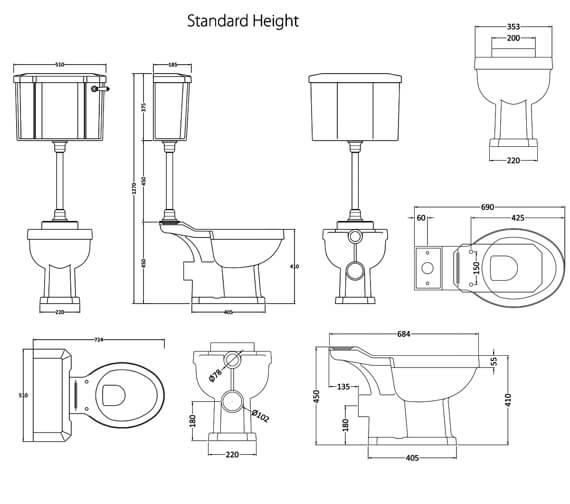 Technical drawing QS-V98186 / CCR036
