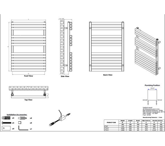 Technical drawing QS-V96041 / AT5A7S