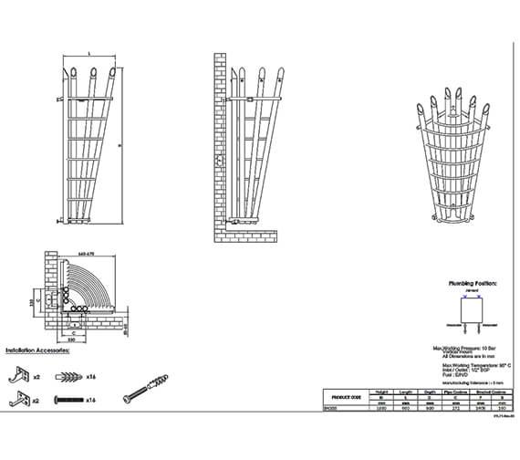 Technical drawing QS-V96044 / BAC618S
