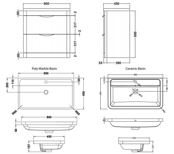 Technical drawing QS-V73270 / FPA001