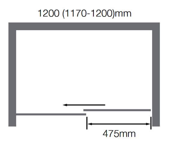 Technical drawing QS-V89580 / BENDY-D9153-12BC