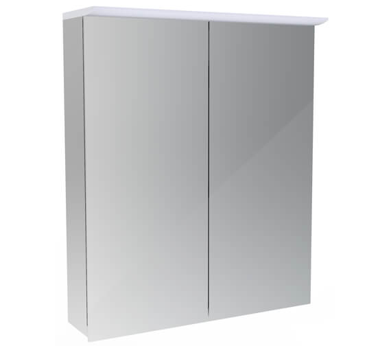 Saneux Glacier 2 Door Cabinet With Light And Shaver Socket