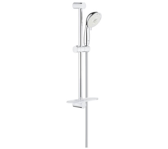 Grohe New Tempesta Rustic 4 Spray Pattern Shower Rail Set