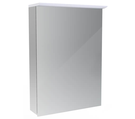 Saneux Glacier 500mm Wide Cabinet With Light And Shaver Socket