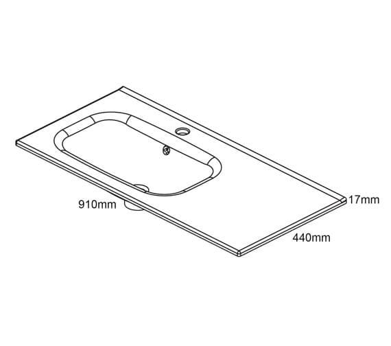 Technical drawing QS-V98504 / RO125315