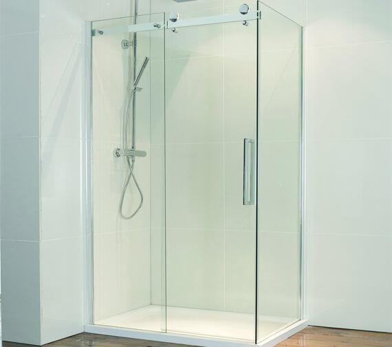 Aquaglass Plus 8mm Frameless Sliding Door