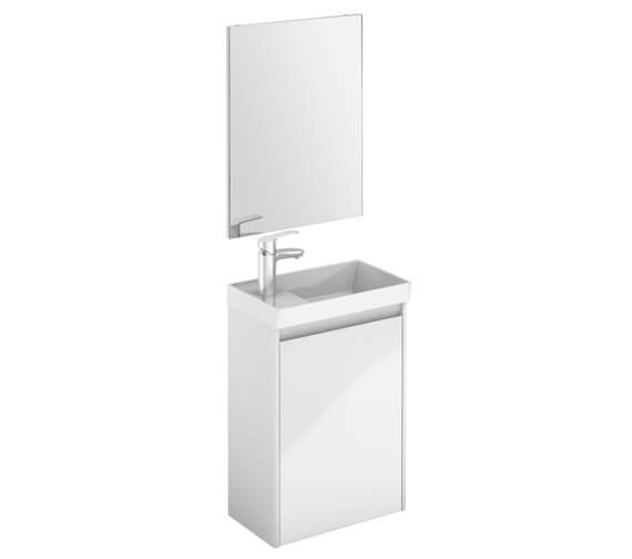 Royo Enjoy 450 x 275mm Wall Hang Vanity Unit And Mirror