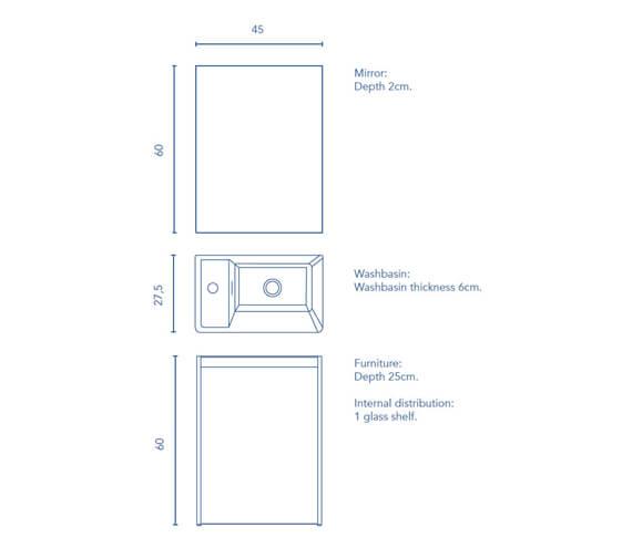 Technical drawing QS-V98505 / RO125140