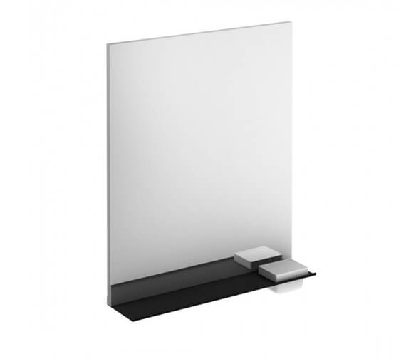 Royo Structure Illuminated Mirror With Shelf And Integrated Storage Case
