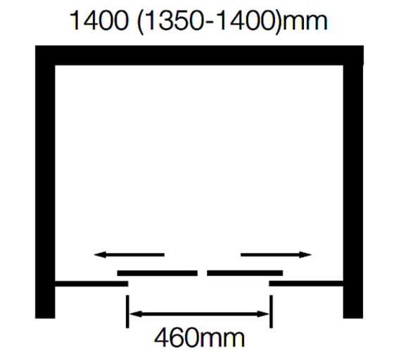 Technical drawing QS-V89583 / BE9152B#-14