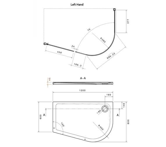 Technical drawing QS-V105016 / RX0144662100