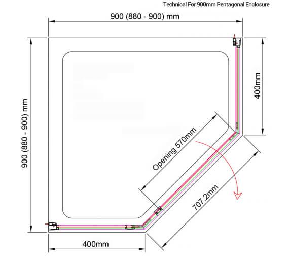 Technical drawing QS-V89586 / BE611239