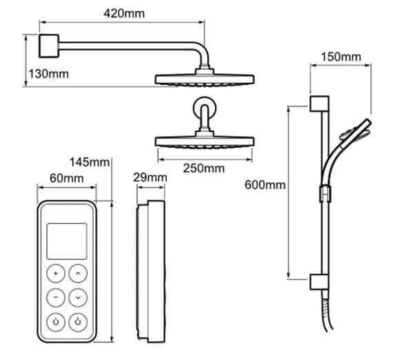 Technical drawing QS-V81028 / 1.1797.103