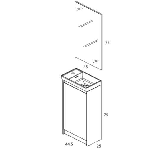 Technical drawing QS-V98506 / RO125319