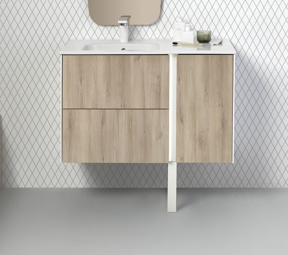 Alternate image of Royo Go Illuminated 2 Drawer Floor-Standing Bluetooth Vanity Unit