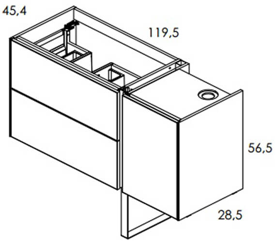 Technical drawing QS-V93966 / RO125681