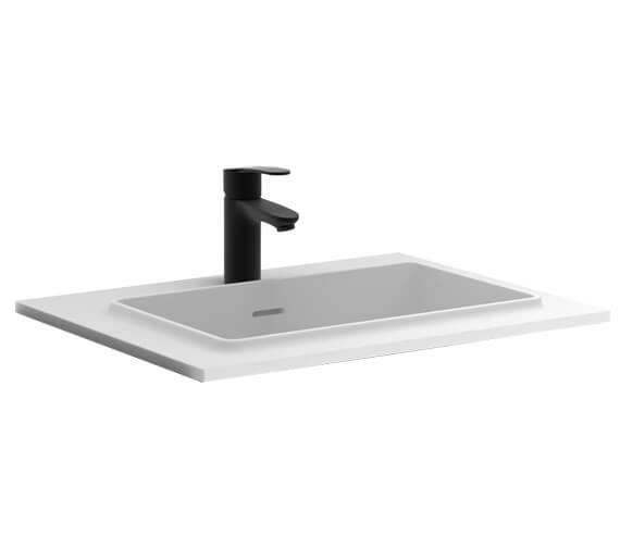 Alternate image of Royo Structure 600mm 2 Drawer Floor Standing Vanity Unit With Basin