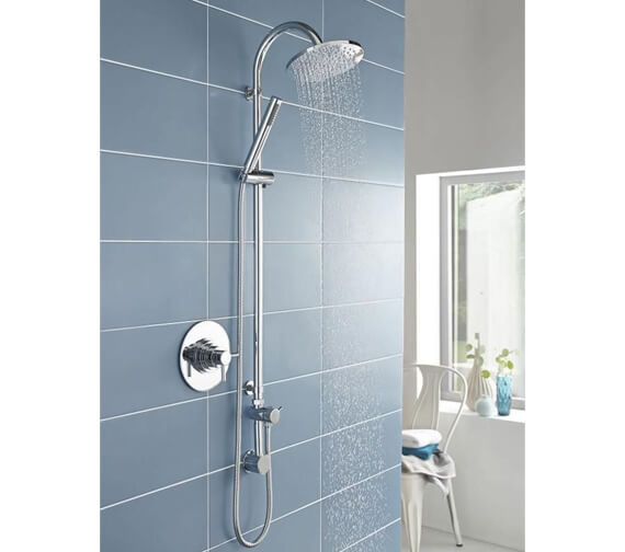 Alternate image of Hudson Reed Tec Dual Thermostatic Shower Valve